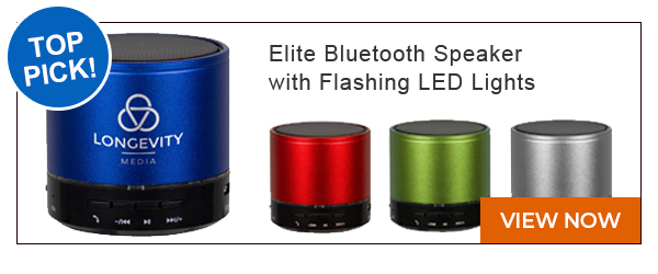 Elite Bluetooth Speaker With Flashing Led Lights